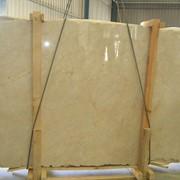 Крема марфил, качество коммерческое, плита мраморная фото
