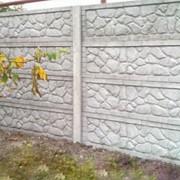 Еврозаборы бетонные фото