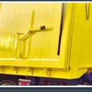 Самосвал со алюминивым кузовом, откидной задний борт фото