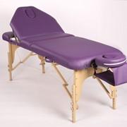 Трёхсекционный деревянный складной стол ELEGANCE фото