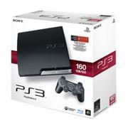 Игровая приставка Sony PS3 Slim 160Gb фото
