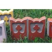 Формы для изготовления бордюрного камня (2 шт) фото