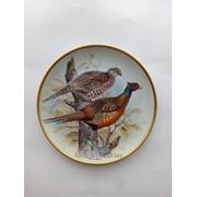 Тарелка фазан (подарки для коллекционеров) фото