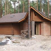 Строительство деревянных домов из бруса, Киев фото