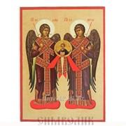 Икона Архангелы Михаил и Гавриил Артикул: 001067ид14001 фото
