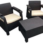Комплект мебели Yalta Balcony Set (Weekend) с подстаканниками фото
