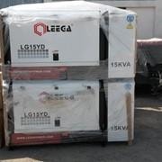 Дизельный генератор LG15YD в кожухе с АВР фото