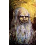 Картина. Леонардо да Вінчі. 23х40. 2006. Олія. фото
