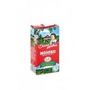 Молоко ДОМИК В ДЕРЕВНЕ стерилизованное 3,2%, 0,5л фото