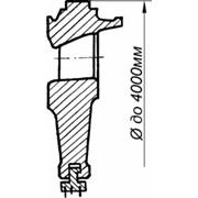 Узлы и детали проточной части турбин: Диафрагмы литые массой до 4000 кг фото