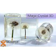 Смола Magic Crystal 3D-полностью прозрачная смола для декора среднего размера,3D покрытия(упак.140г) фото