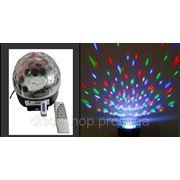 Световой LED прибор MB-040 LED Crystal Magic BALL 10W c MP3 фото
