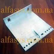 Кронштейн алюминиевый несущий 180х50х140мм с 2 отверстиями фото
