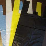 Пакет майка без рисунка, разных размеров фото