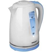Чайник электрический Scarlett SC-EK18P06 Белый голубой 1.7л фото