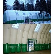 Пневмокаркасное сооружение – конференц-зал. фото
