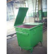 Евро контейнер для мусора ЕКМ-1 фото