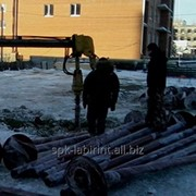 Свая винтовая ø 133 мм, 9 м фото