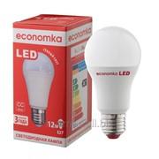 Светодиодная лампа Economka А60 LED 12W Е27-2800К фото