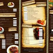 Печать меню в Актау фото