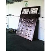Железные ворота,входные двери а также другие изделие из метало. фото