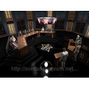 Дизайн выставочных и телевизионных декораций фото
