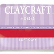 Полимерная глина красная(синяя,желая, синяя,зеленая, коричневая, черная)CLAYCRAFT by Deco фото