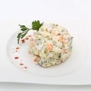 Доставка салатов - Салат «Столичный» фото