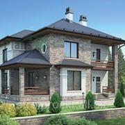 Проектирование домов из фин блока фото