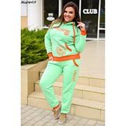 Женский спортивный костюм (батал) фото