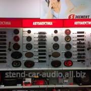 Демонстационный стенд car audio фото