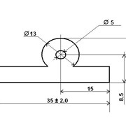 Уплотнительная резина ТУСМ-4-01 профильная фото