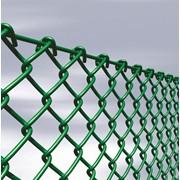 Сетка Рабица с полимерным покрытием 45x45 мм проволока 2 мм фото