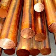 Пруток (круг) бронзовый 32 мм БрБ2 ГОСТ 1628-78 фото