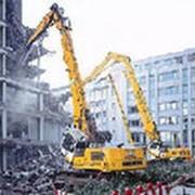 Слом зданий и строений фото