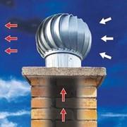 Дефлектор ротационный диаметр 125 оцинкованный фото