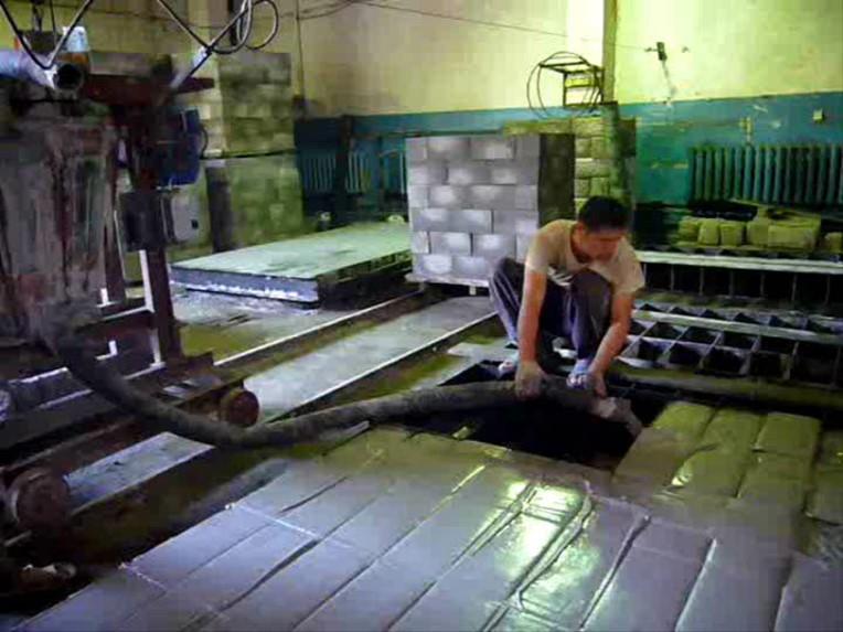 завод по производству ячеистого бетона в