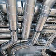 Монтаж систем вентиляции и кондиционирования. фото