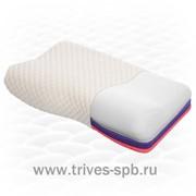 Ортопедическая подушка с «эффектом памяти», трехслойная с регулируемой высотой ТОП-105 фото