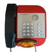 Промышленный антивандальный всепогодный телефонный аппарат БТА-05 фото