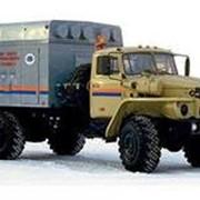 Моторный подогреватель УМП-400 на шасси Урал 43206 фото