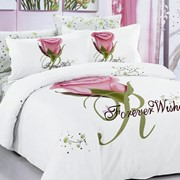 Комплект постельного белья ARYA 3D Janna сатин полуторный 1001807 фото