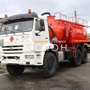 Автоцистерна нефтепромысловая АКН-12 на шасси КАМАЗ 43118-50 фото