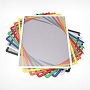 DATAFRAME A4 рамка для перекидной системы, белый фото