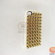 Накладка iPhone 4S (PUNK) №1 белый 70469 фото