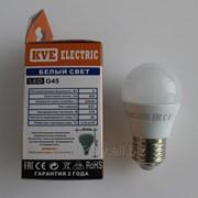 Лампа светодиодная G45-05SP1 цоколь Е27 фото