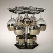 Мини-бар 18 предметов вино Карусель Флоренция, темный 240/55/50 мл фото