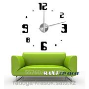 Часы-Стикеры размер 100х100 см фото