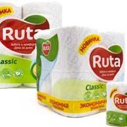 Бумага туалетная РУТА Классик (Ruta Classic), белая фото