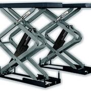 KraftWell KRW3U Подъемник ножничный короткий г/п 3000 кг. заглубляемый фото